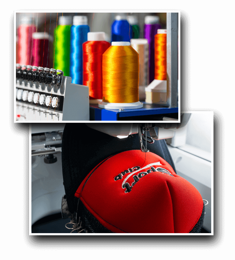 Click to Enlarge - Embroidered Hats Service in Shelbyville KY